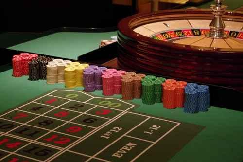 ルーレットのカジノ本拠地での雰囲気