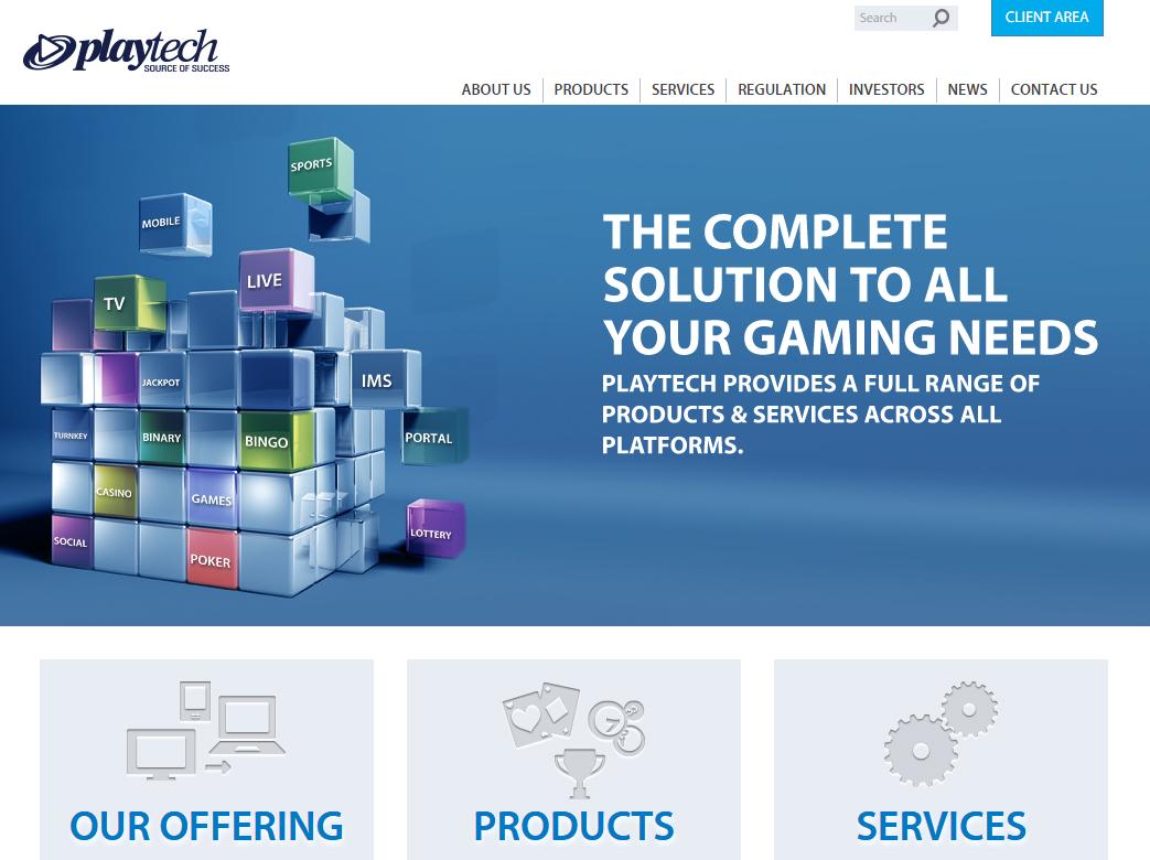 プレイテックの公式サイト
