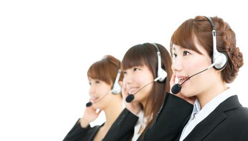 日本人スタッフ完備!安心の24時間日本語サポート